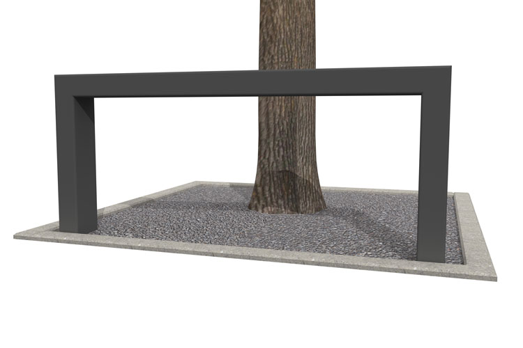 BUMP 100 tree trunk guard, boombeugel